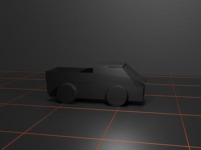 Techno Truck lighting composition modeling scifi render 3d blender