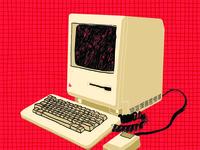 Oldschool Apple Computer
