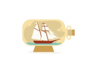 Ship in a Bottle: Finishing Touches