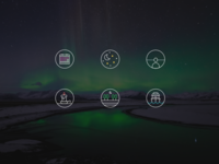 Icons - Tips for viewing the Northern lights