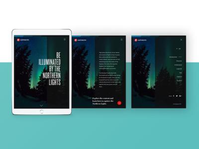 Northern Lights Tablet