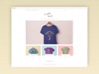 Minimalist e-Shop