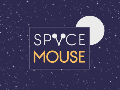 Space Mouse by Sarah Collett via dribbble
