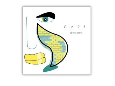Care By Temporex lips wall brick try new things bricks tear eye typehue affinity challenge temporex care