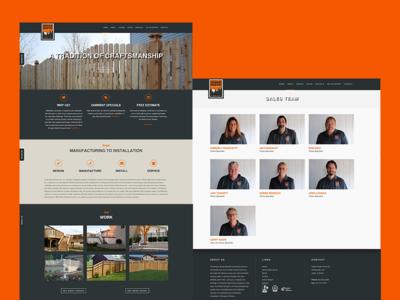 Cedar Rustic wordpress web development web design website