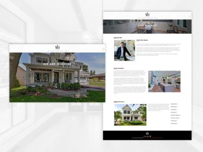 M House Development wordpress web development web design website
