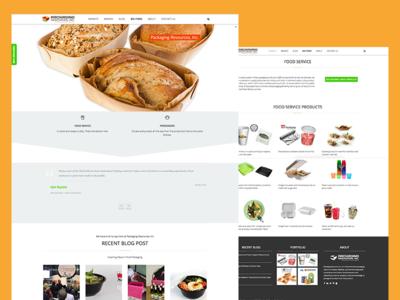 Packaging Resources, Inc. wordpress web development web design website
