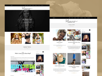 Shawn Johnson wordpress web development web design website