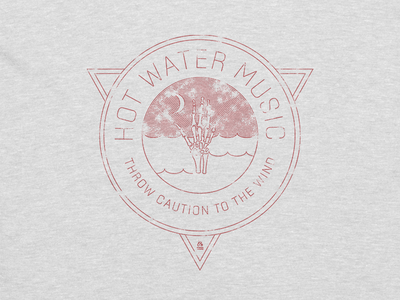 "Hot Water Music ""Throw Caution To The Wind"" Tee"