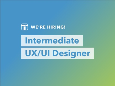 TTT Studios is hiring! intermediate designer agency product designer ui designer ux designer ux ui role designer ttt studios job listing job hiring