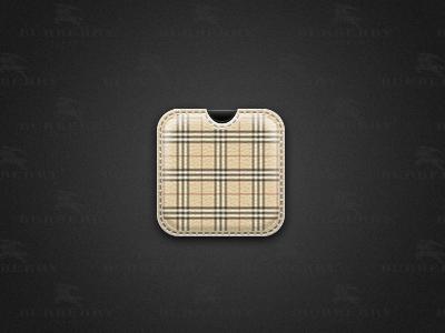 Burberry ios stitching burberry icon
