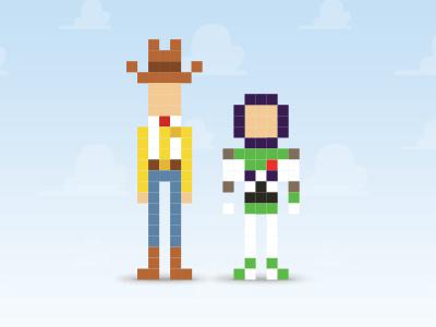 Toy Story  toy story 8 bit