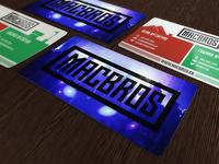 MacBros Cards