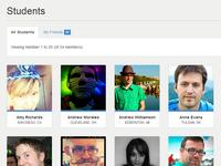 E-Learning WordPress - BuddyPress Student Directory