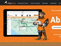 Abadata.ca Homepage - WIP