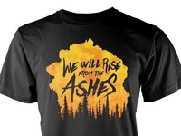 From The Ashes - Alberta Wildfire Relief Tee