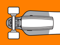 Juiced Electric Skateboard Manual Illustration