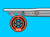 Juiced Electric Skateboard Manual Illustration 2