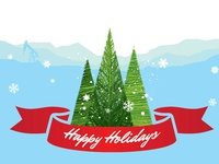 Holiday Card 1 - Outside