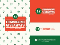 12 Days of Filmmaking Giveaways Branding