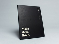 Make Them Listen — Magazine Wrap