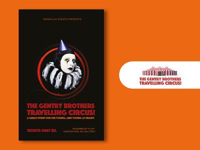 Travelling Circus V1 ui design travel circus new summer events imadhadad adobe dark netflix event poster art montreal creativity poster illustrator canada 2020 photoshop