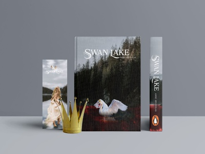 Swan Lake poster netflix creativity canada 2020 new montreal publication book art photoshop illustrator cover design bookcover