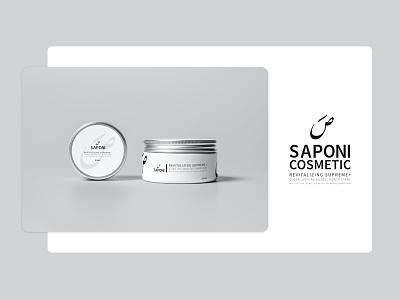 Saponi Cosmetic digital dribbble 2020 art caligraphy organic cosmetic uiux ui logodesign logo packagedesign packaging brand identity branding design illustrator montreal creativity photoshop