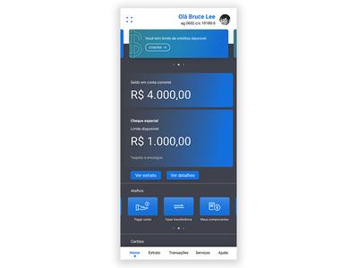 Bank home app