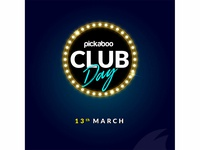 club day sale banner.