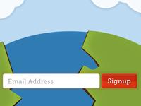 Signup Landing Page