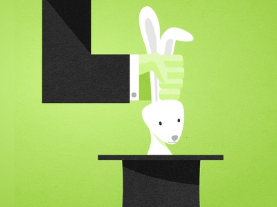 Pull A Rabbit magic rabbit hat flat