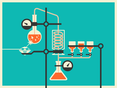 Science Bits lab laboratory experiment gauges chemistry