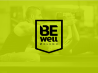 Be Well @ Blend logo option