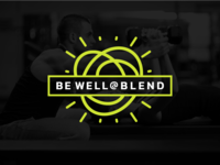 Be Well @ Blend Logo