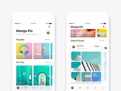 New Style minimalism experience user community ui ux application style new app ios11
