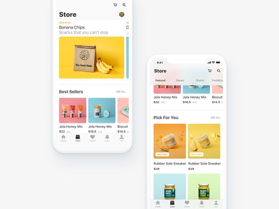 Food Application ux ui food application ios11 iphone x layout catering services