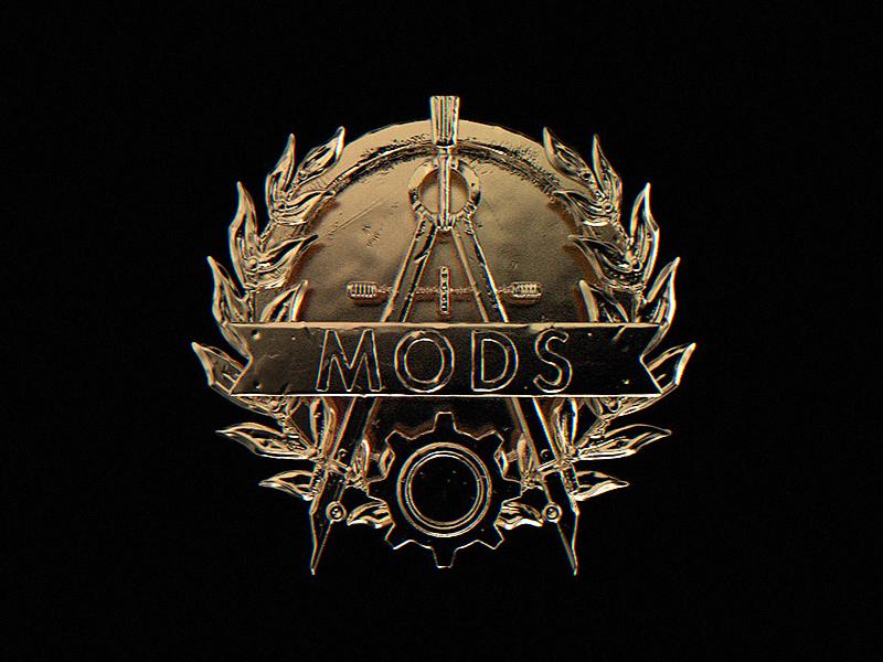 Mod Portal Logo wargaming wot tanks prize reward battle tournament winner poster illustration graphic design design