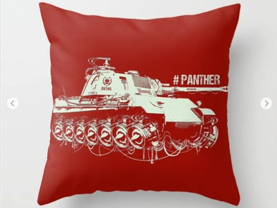 #panther tank graphic design sketch design concept character illustration game panther tank