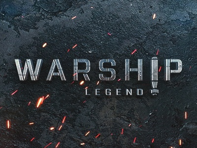 Warship Legend poster design graphic design vector ui character sketch illustration game concept icons logo warship legend