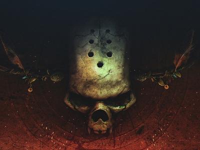 skull VAMPYR design graphic design sketch poster character illustration game concept vampyr skull skull art