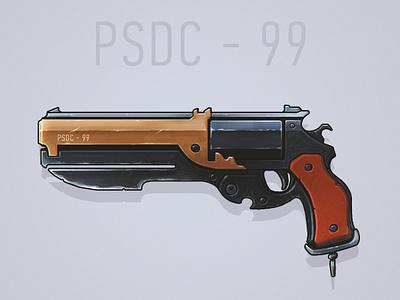 gun\sketch concept game sketch gun