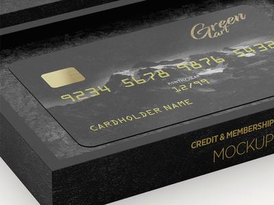 Bank / Credit Card Mock-up