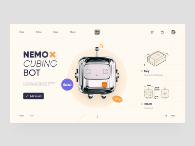 RAMA WORKS Web shop toy design website web