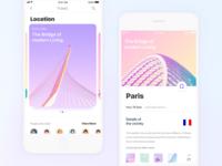 Travel-sharing app —iOS11 Version