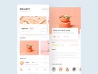 UI design exercises-Dessert