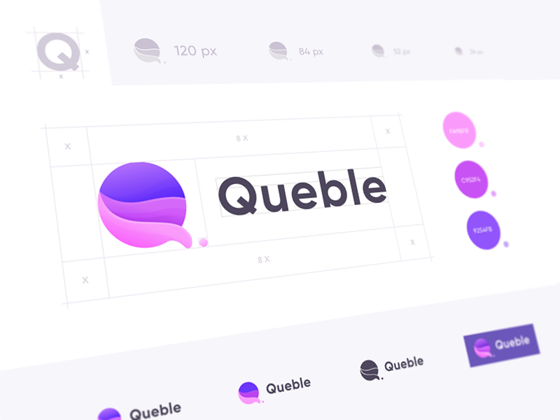 New Queble Branding