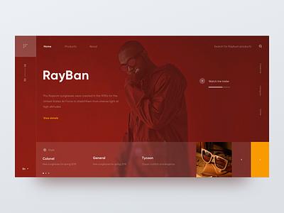 Brand_Web_01 vision layout web rad rayban
