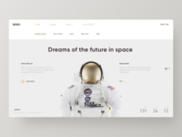 NASA Web Design