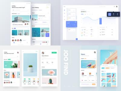 My 2018 web clean layout app white 2018 ui design